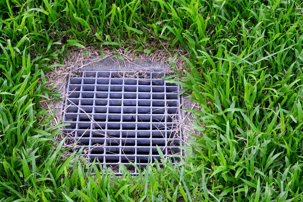French-Drain-Installation